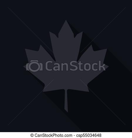 450x470 Maple Leaf Vector Icon. Maple Leaf Vector Illustration.... Eps