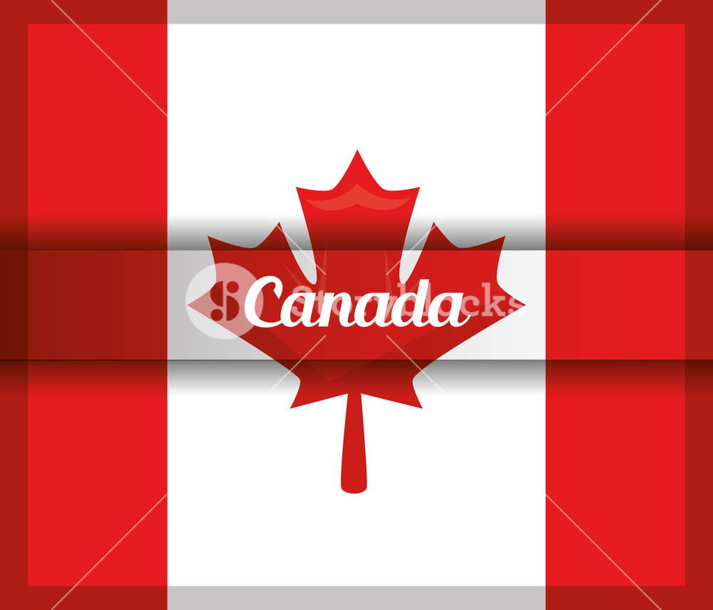 1000x855 Canada National Country Flag Maple Leaf Vector Illustration
