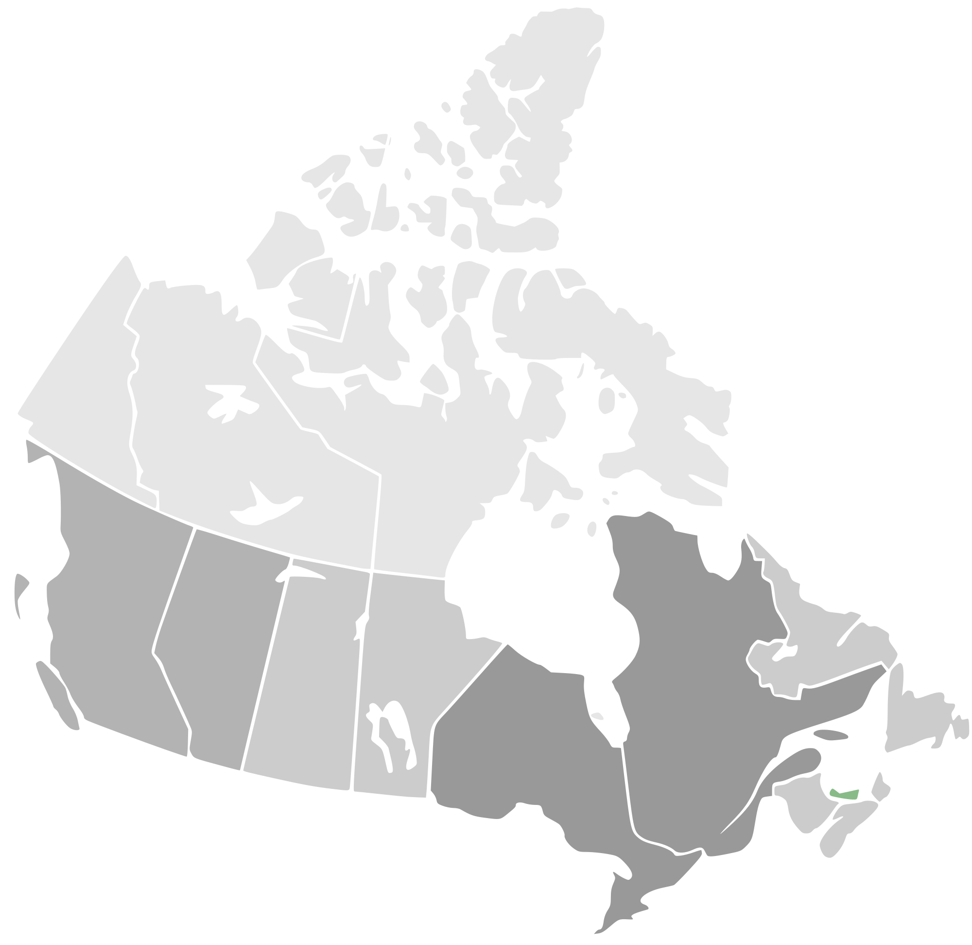 Free Map Of Canada.Canada Map Vector At Getdrawings Com Free For Personal Use Canada