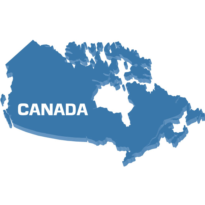 660x660 Outline Map Of Canada Vector