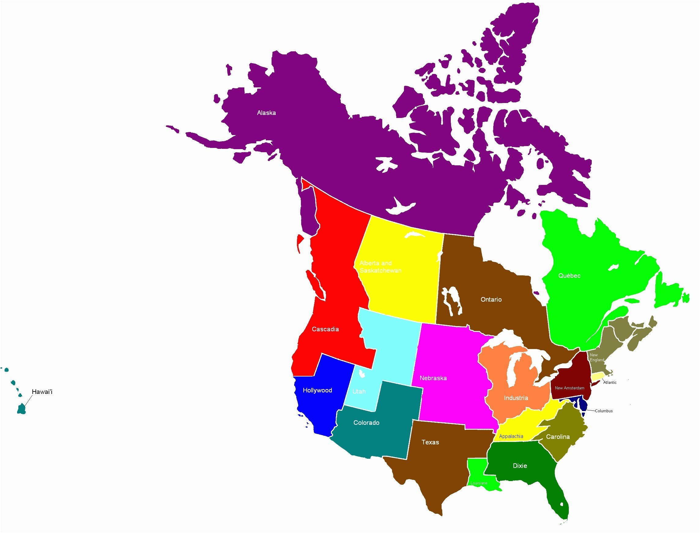 2289x1744 United States Canada Map Vector Save Map North America With States
