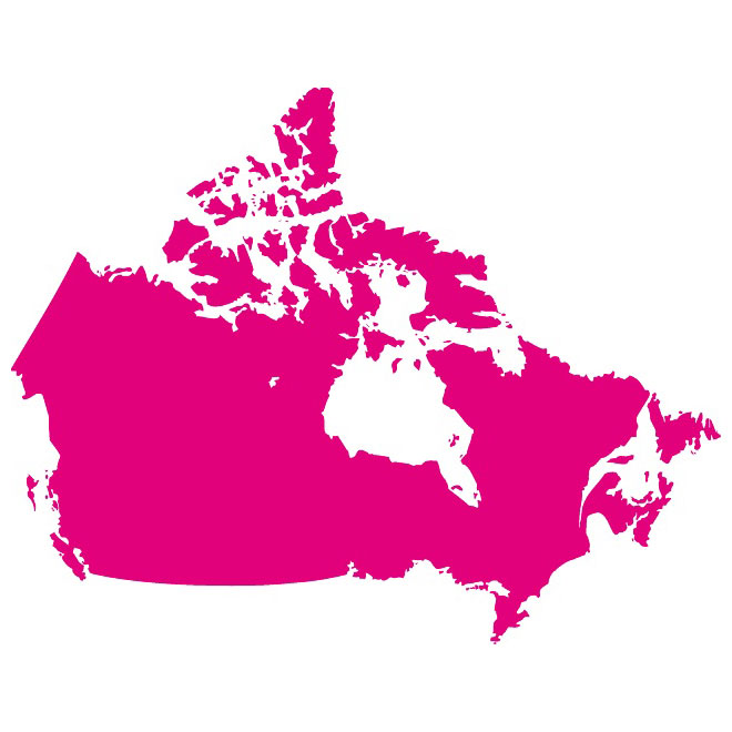 660x660 Vector Map Of Canada