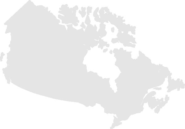 600x418 Canada Map Clip Art