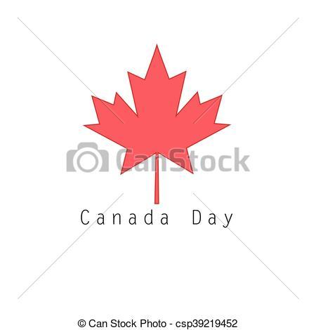450x470 Symbol Of Canada Red Maple Leaf. Graphic Vector Symbol Of Canada