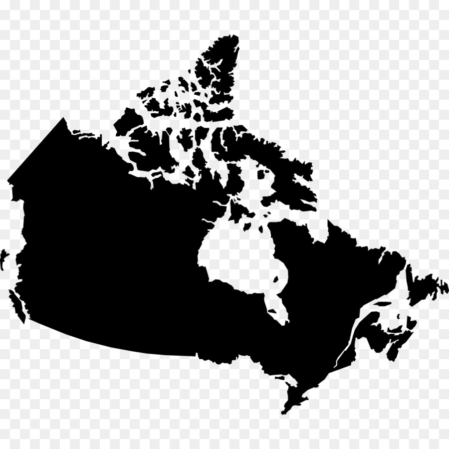 900x900 Canada Vector Map Blank Map