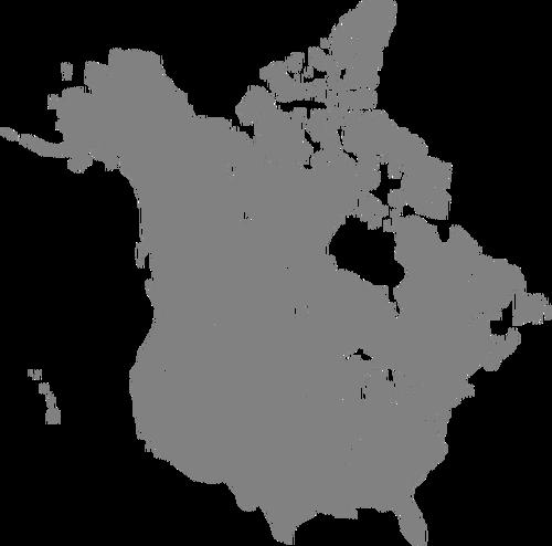 500x494 Canada And Us Public Domain Vectors