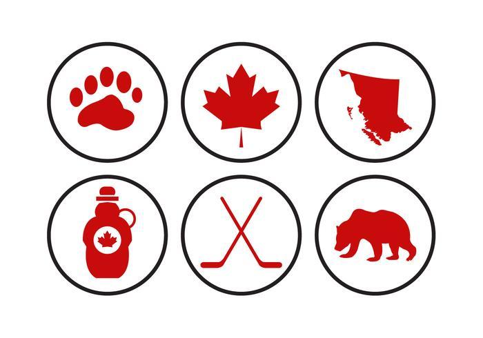 700x490 Canada Icons Vectors