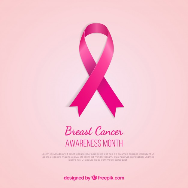 626x626 Breast Cancer Awareness Pink Ribbon Vector Free Download
