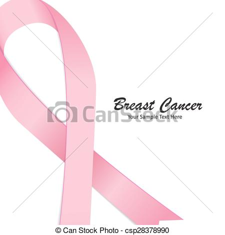 450x470 Breast Cancer Awareness Pink Ribbon Vector Illustration Eps10 .
