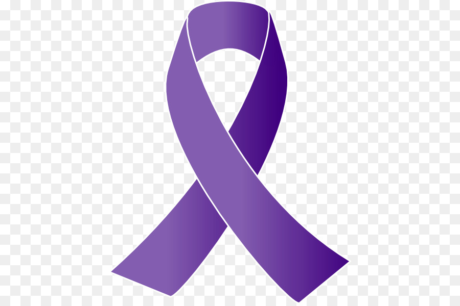 900x600 Cancer Awareness Ribbon Purple Ribbon Clip Art