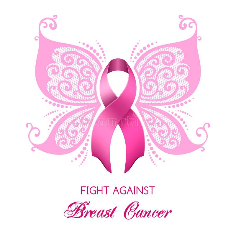 800x800 Cancer Pink Ribbon Clip Art Download Breast Cancer Awareness Stock