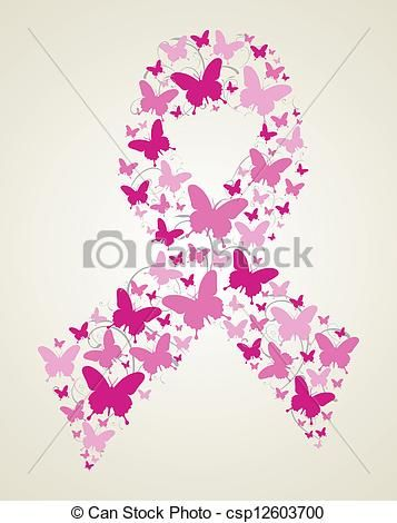 357x470 Breast Cancer Awareness Drawings Pink Butterflies In Breast