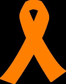 231x297 Orange Cancer Ribbon Clip Art