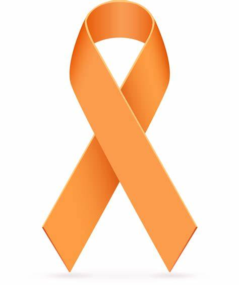 474x564 Orange Cancer Ribbon Vector. Orange Cancer Ribbon Clip Art