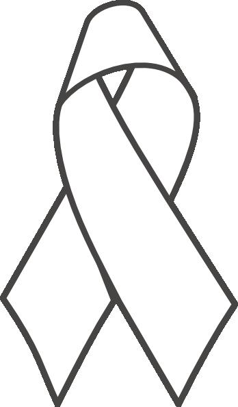 348x594 Breast Cancer Ribbon Bampw Clip Art