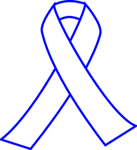 Cancer Ribbon Outline Vector