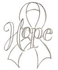 191x230 Breast Cancer Ribbon Vector Outline Breastcancerinfoblog