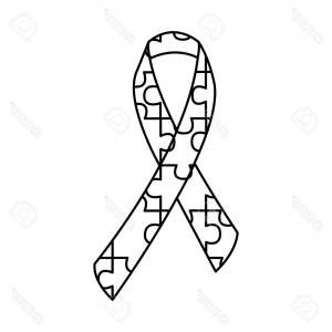 300x300 Photostock Vector Prostate Cancer Awareness Ribbon Vector Icon On