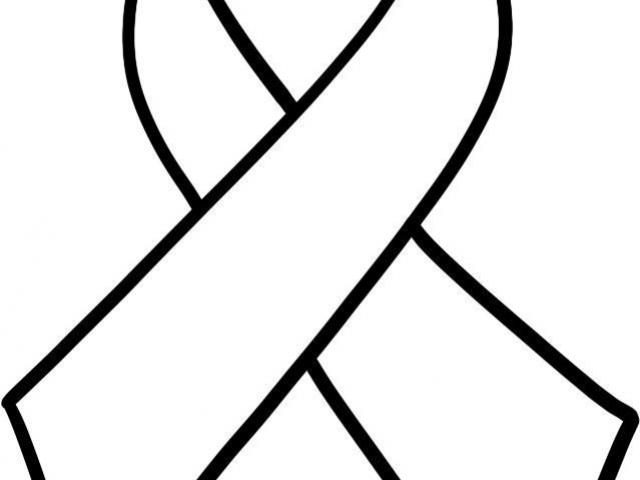 640x480 Breast Cancer Ribbon Outline Free Download Clip Art