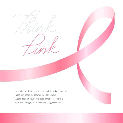 490x490 Pink Ribbon For Breast Cancer Vector Free Download Pumpkin