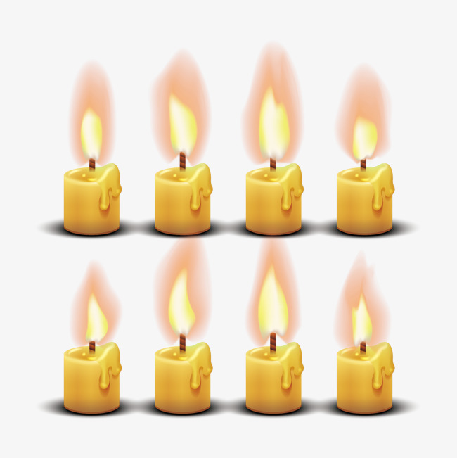 650x651 Vector Candles And Flames, Vector Diagram, Candle, Flame Png And