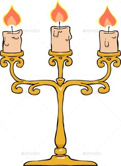 236x324 Retro Candlestick With Candles Candlesticks, Retro And Font Logo