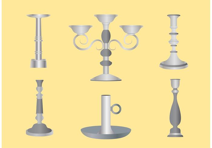 700x490 Silver Candlestick