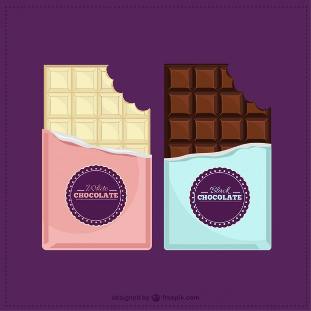 626x626 Chocolate Bars Vector Premium Download