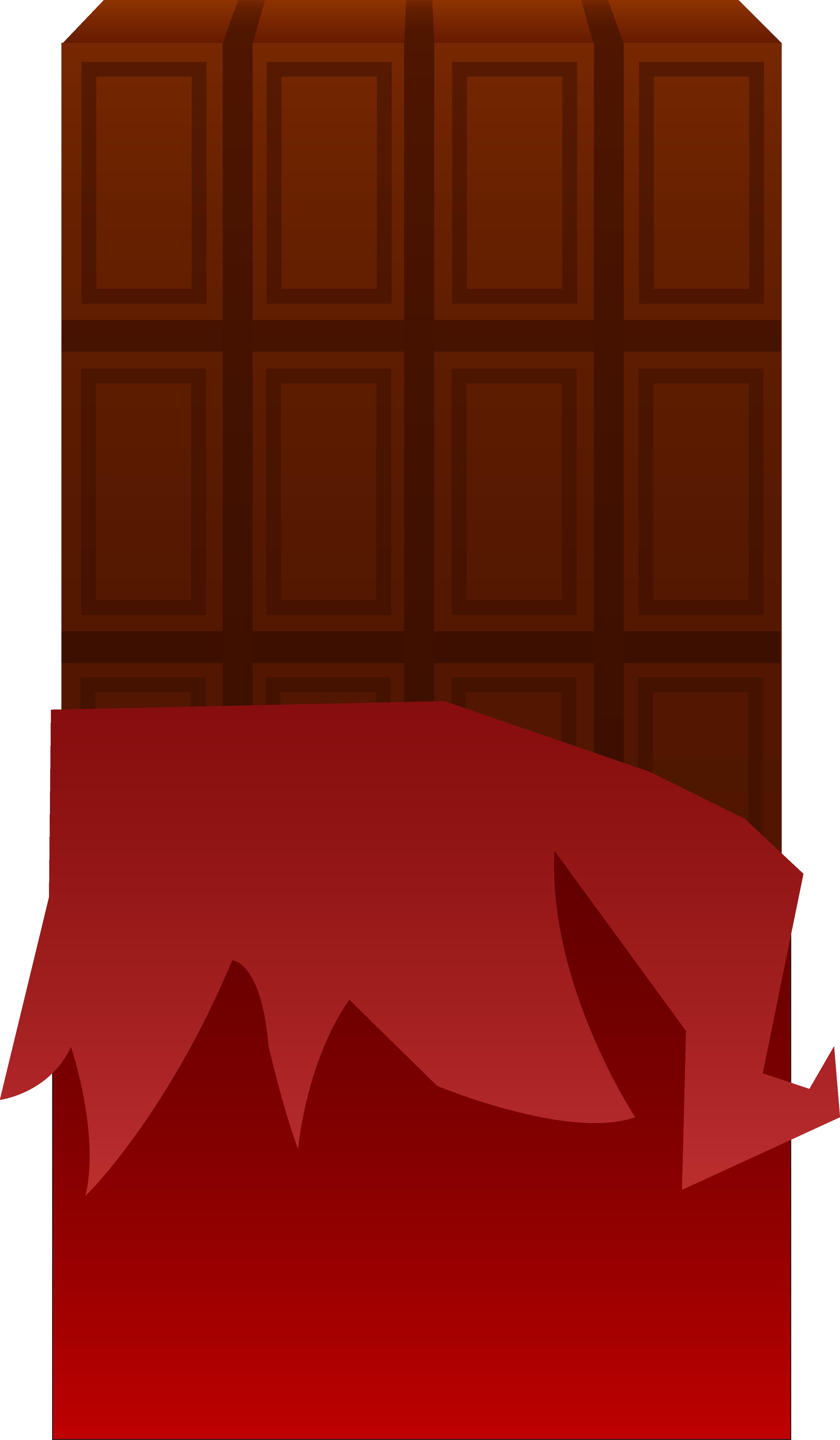 3515x6024 Brown Clipart Chocolate Bar