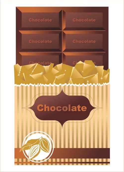 499x693 Delicious Chocolate Bar Vector Design 01 Free Vectors Ui Download