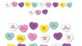 280x158 Free Valentine Candy Heart Clipart All About Clipart