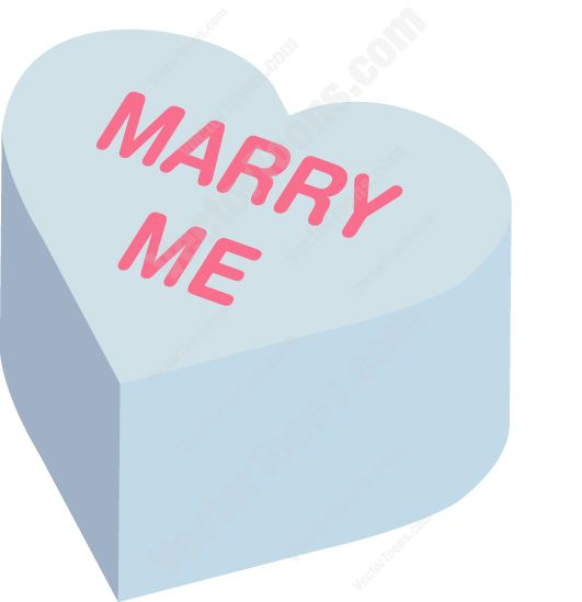 531x549 Marry Me Heart Shaped Candy Clipart By Vector Toons