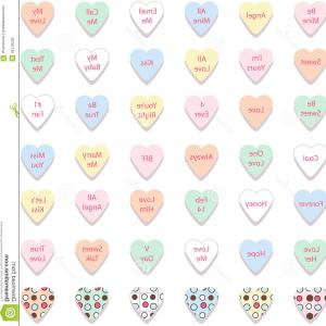300x300 Vector Illustration Of Valentine Message Heart Candy Gm Lazttweet