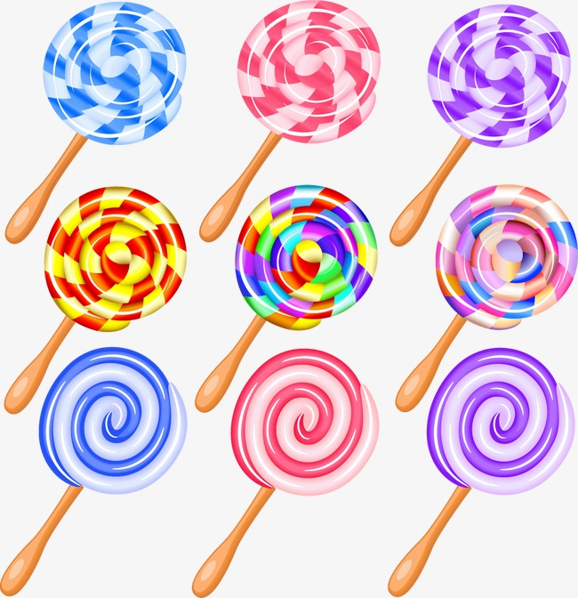 650x672 Lollipop, Rainbow Candy, Vector Png And Vector For Free Download