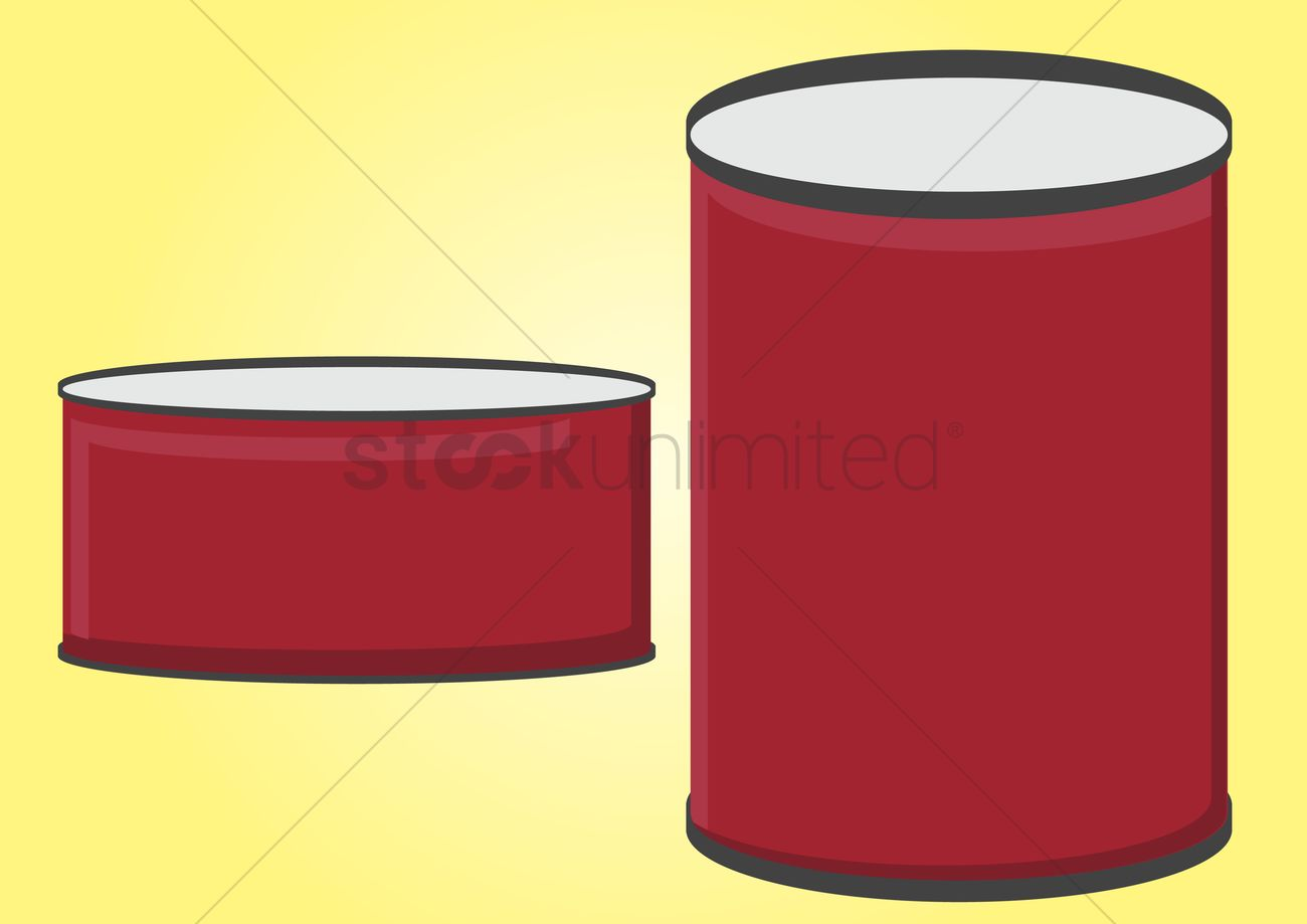 1300x919 Free Vector Of Canned Food Vector Image