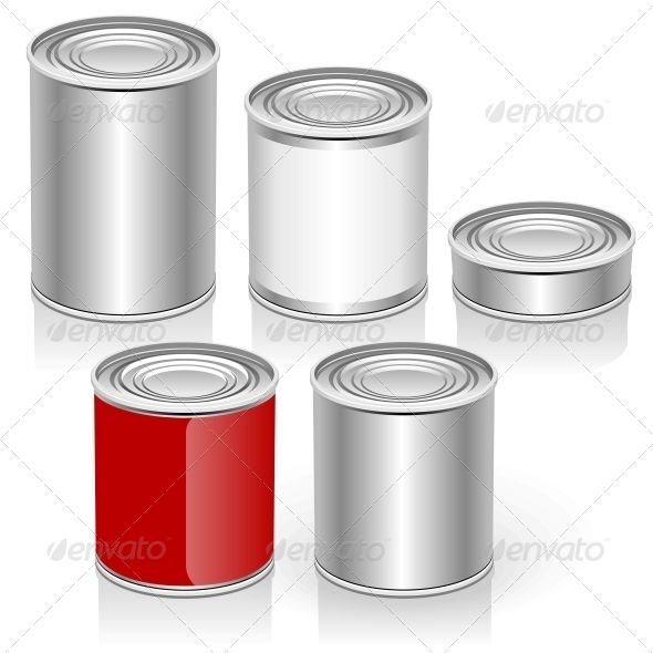 590x590 Vector Tincan Set Cartoon, Trucks And Icons