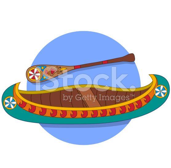 Canoe Vector Art