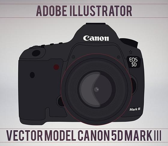 560x485 Canon Camera Vector Free