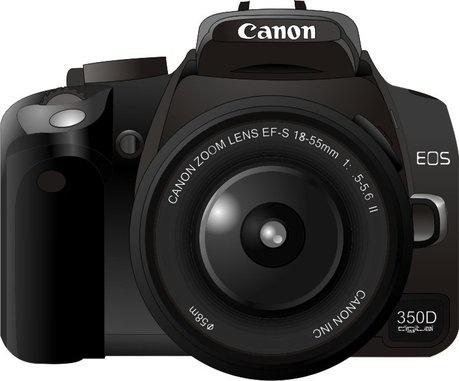 459x381 Canon350d Camera Vector Free Vector In Coreldraw Cdr ( .cdr