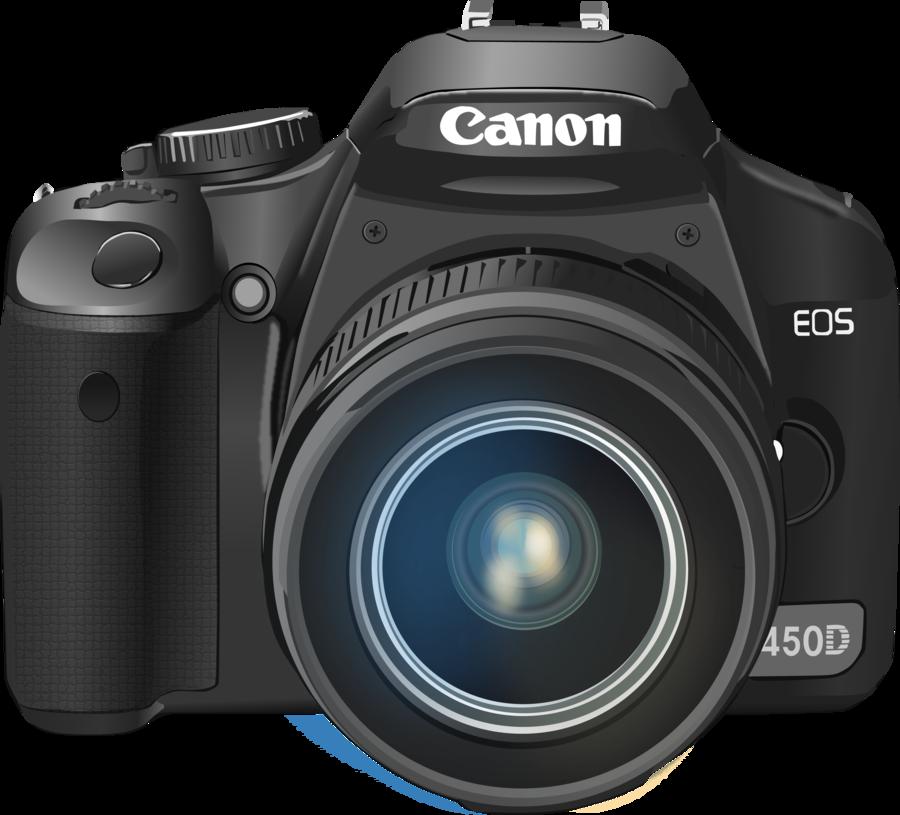 900x815 Canon 450d Vector By Crazyl0cke