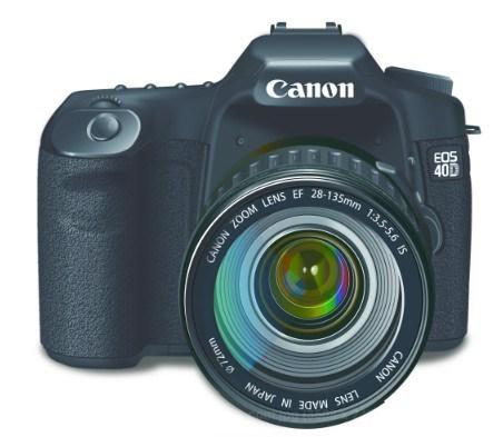 452x393 Free Canon Eos Zoom Lens Vector