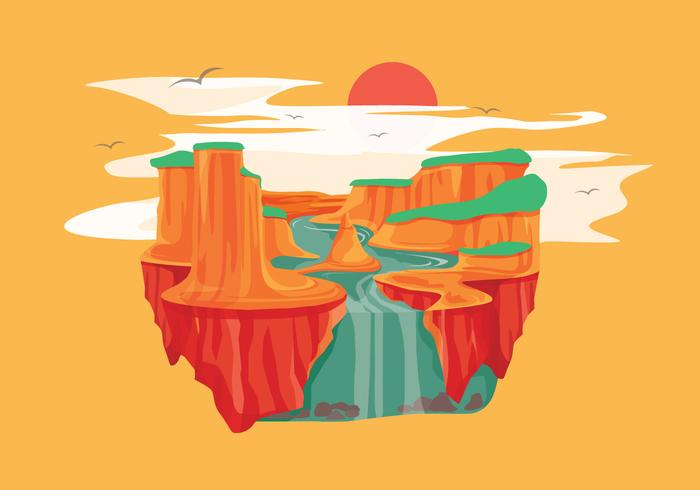 700x490 Grand Canyon Vector