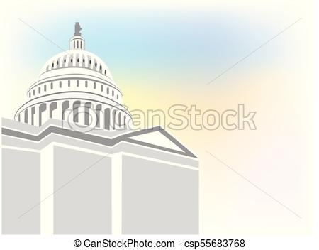 450x352 Capitol Building Vector Logo. Capitol Building Vector Icon... Clip