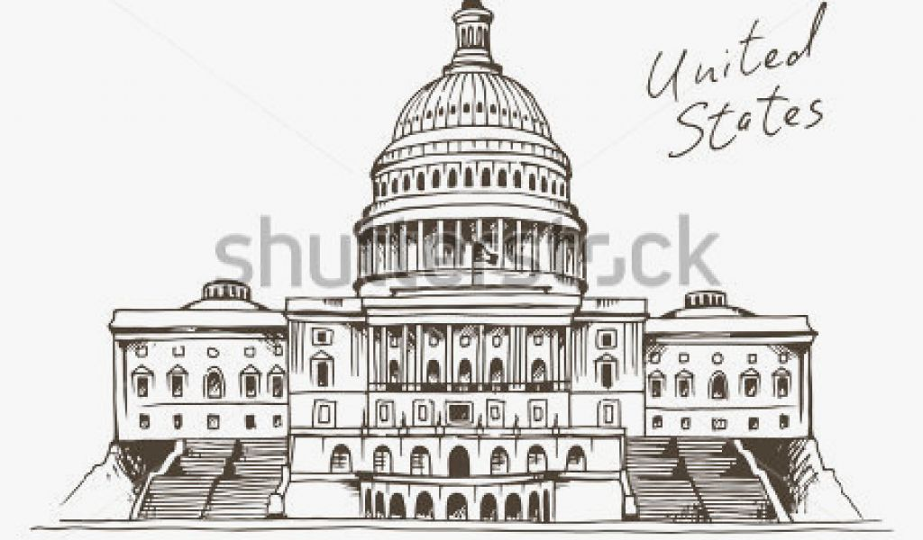 1024x600 Capitol Building Luxury United States Capitol Building Vector