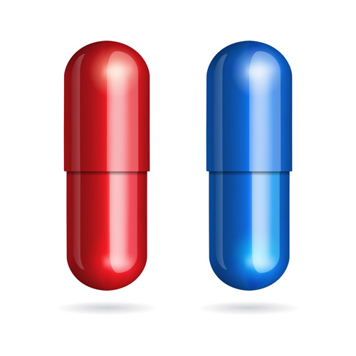 500x500 Colored Capsule Vector Set 03 Free Download