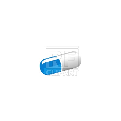 400x400 Pill Capsule Vector Image Vector Artwork Of Healthcare, Medical