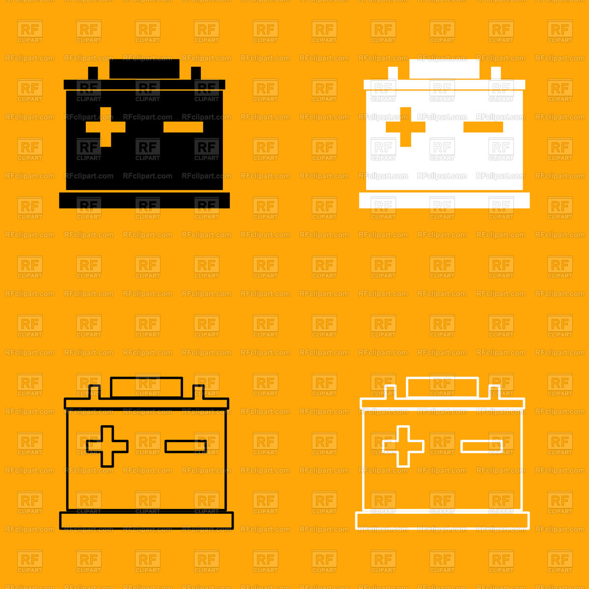 1200x1200 Car Battery Icon Vector Image Vector Artwork Of Icons And