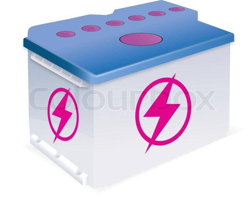 800x631 Vector Car Battery Stock Vector Colourbox