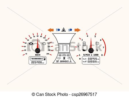 450x338 Automotive Icon Car Dashboard Vehicle Speedometer Concept
