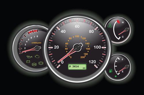 500x329 Different Car Dashboard Design Vector 02 Free Download